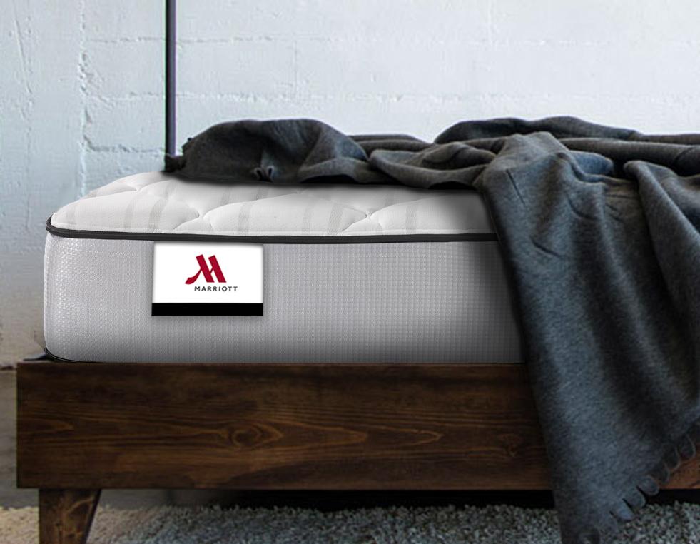 corner of president mattress in room